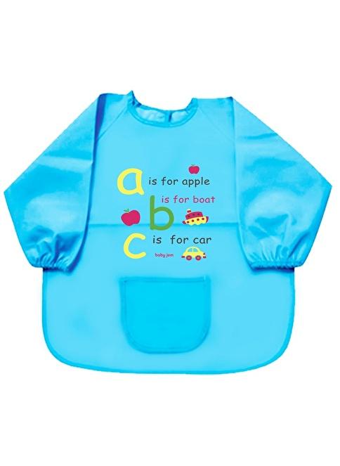Baby Jem Faaliyet Önlüğü Kollu  Mavi